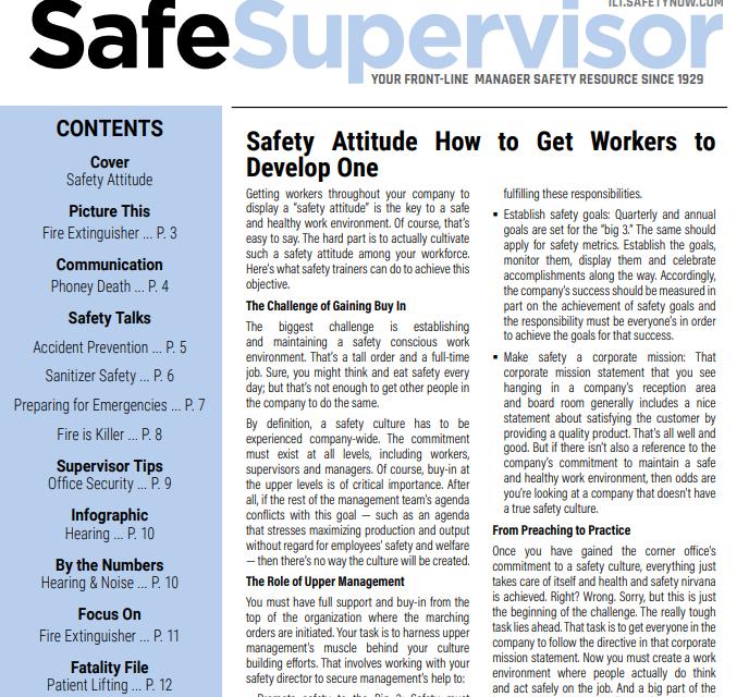 September 2020 SafeSupervisor Newsletter