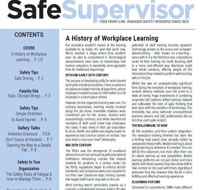 October 2020 SafeSupervisor Newsletter