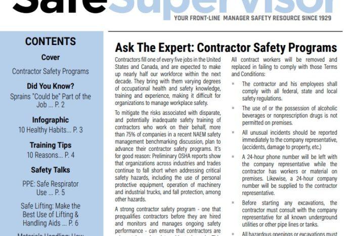 August 2020 SafeSupervisor Newsletter