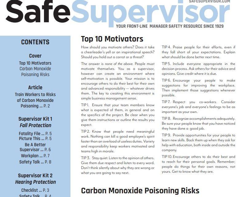 January 2020 SafeSupervisor Newsletter