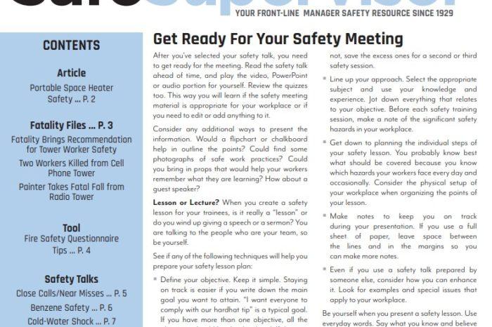 February 2020 SafeSupervisor Newsletter