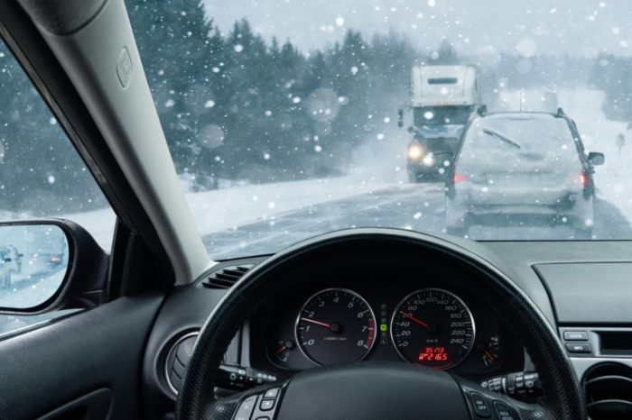 Winter Driving Safety Talk