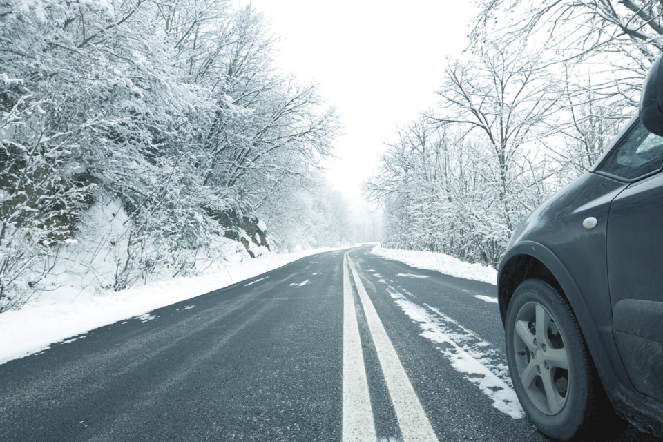 Driver Safety Infographic: Winter
